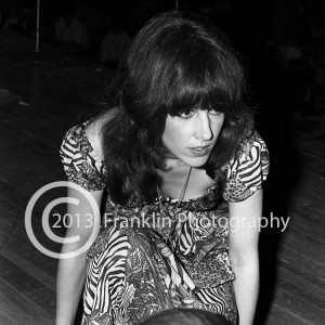 8395 Grace Slick of Jefferson Airplane performing on 5-24-68 at the Coliseum in Phoenix Arizona. Photo by Tom Franklin.