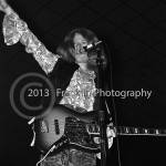 8414 Dickie Peterson of Blue Cheer on stage at the Coliseum in Phoenix Arizona at 10-5-68. Photo by Tom Franklin