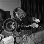 8421 Dickie Peterson of Blue Cheer backstage at the Coliseum in Phoenix Arizona on 10-5-68. Photo by Tom Franklin