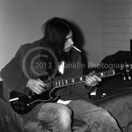 8422 Randy Holden of Blue Cheer backstage at the Coliseum in Phoenix Arizona on 10-5-68. Photo by Tom Franklin