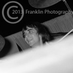 8424 Keith Moon of The Who performing in Phoenix Arizona on 8-17-68. Photo by Tom Franklin.