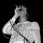 8425 Roger Daltry of The Who performing in Phoenix Arizona on 8-17-68. Photo by Tom Franklin.