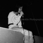 8437 Rod Evans of Deep Purple singing at the Exhibit Hall at the Teen Fair in Phoenix Arizona in November of 1968. Photo by Tom Franklin