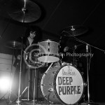 8438 Ian Paice of Deep Purple performing at the Exhibit Hall at the Teen Fair in Phoenix Arizona in November in 1968. Photo by Tom Franklin