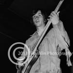 8446 Jim Messina of Buffalo Springfield on 4-26-68 at Exhibit Hall in Phoenix Arizona. Photo by Tom Franklin