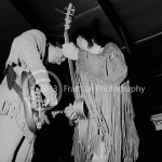 8449 Neil Young and Jim Messina of Buffalo Springfield on 4-26-68 at the Exhibit Hall in Phoenix Arizona. Photo by Tom Franklin