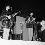 8457 David Crosby, Gene Clark, Jim McGuinn of The Byrds performing at the Coliseum in Phoenix Arizona in 1965. Photo by Tom Franklin.