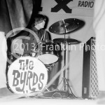8458 Michael Clark of The Byrds performing at the Coliseum in Phoenix Arizona in 1965. Photo by Tom Franklin