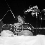 8466 Ron Bushy of  Iron Butterfly performing at the Coliseum in Phoenix Arizona on 10-5-68. Photo by Tom Franklin