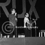 8473 Simon and Garfunkle performing at the Coliseum in Phoenix Arizona on 8-22-68. Photo by Tom Franklin.