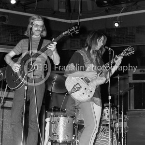 8603 Phil Lesh and Bob Weir of The Grateful Dead performing at the Phx Star in Phoenix Arizona on 6-22-68.