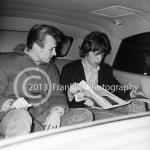 8685 Local legend Pat McMahon interviewing Mick Jagger in the limo. Photo by Tom Franklin.