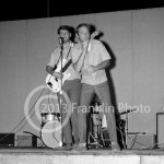 8723 Brian Wilson and Al Jardine of the Beach Boys in concert on August 7, 1964 in Phoenix Arizona. Photo by Tom Franklin.
