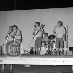 8724 Full band shot of the Beach Boys in concert on August 7, 1964 in Phoenix Arizona. Photo by Tom Franklin.