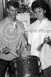 8851 Bobby Rydell and Annette Funicello. Picture by Johnny Franklin.
