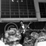 8861 Fats Domino's guitar player. If you know this man's name please contact us. Photo by Johnny Franklin