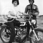 8865 Micky Dolenz of The Monkees on a bike