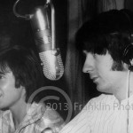 8867 Davy Jones and Mike Nesmith at the Krux Stdio in Phoenix Arizona.