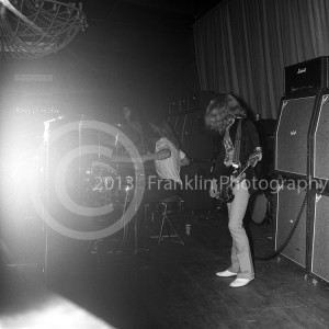 8869 Blue Cheer stage shot from the Exhibit Hall Phoenix Arizona  concert on  3-30-68. Photo by Tom Franklin