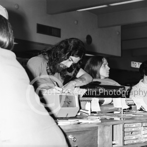 8874 Blue Cheer manager and Paul Whaley checking reservations at the airport in Phoenix Arizona on 3-30-68. Photo by Tom Franklin