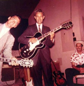 Carl Smith and Sammy Prue. Photo by Johnny Franklin.