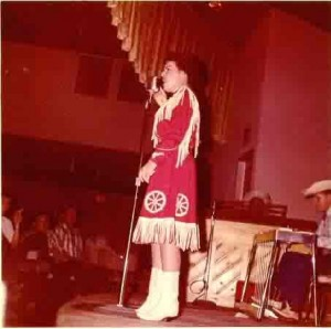 Patsy Cline at the Riverside Ballroom.