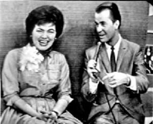 Patsy Cline on American Bandstand. Due to the fact that the film footage of Patsy on the show has been lost, Johnny's photos that he took of his television are the only pictures that survive to document her performance.