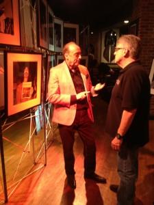 Promotor Phil Lubman and KSLX DJ Mark Wakefield