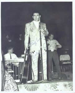 Webb Pierce at the Riverside Ballroom. Photo by Johnny Franklin.